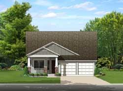 Craftsman Style Floor Plans Plan: 95-236