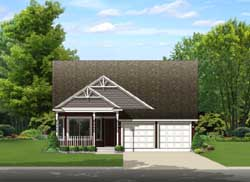 Country Style Floor Plans Plan: 95-237