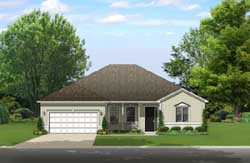 Traditional Style Floor Plans Plan: 95-238