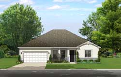 Country Style Floor Plans Plan: 95-239