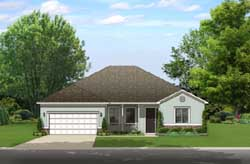 Traditional Style House Plans Plan: 95-240