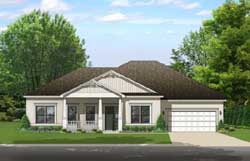 Country Style Floor Plans Plan: 95-242