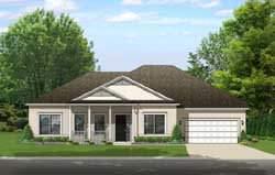 Traditional Style House Plans Plan: 95-243