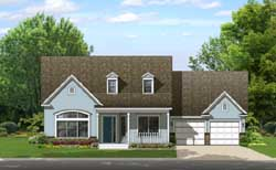 Country Style House Plans Plan: 95-244