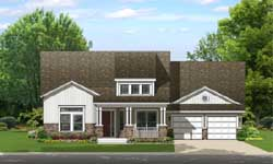 Bungalow Style House Plans Plan: 95-245