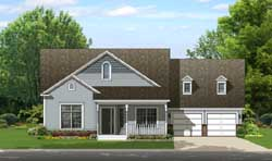 Country Style House Plans Plan: 95-246