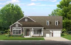Country Style Floor Plans Plan: 95-249