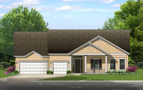 Ranch Style Floor Plans Plan: 95-250