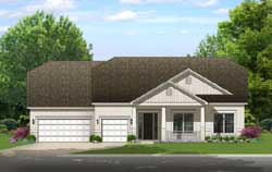 Traditional Style Floor Plans Plan: 95-251