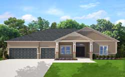 Traditional Style House Plans Plan: 95-257