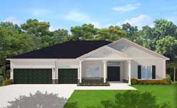Traditional Style House Plans Plan: 95-258