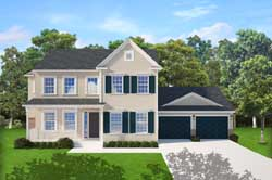 Southern-Colonial Style Floor Plans Plan: 95-259