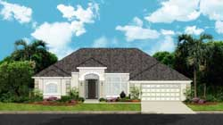 Sunbelt Style Floor Plans Plan: 95-267