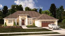 Mediterranean Style House Plans Plan: 95-269