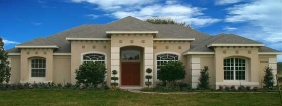 Mediterranean Style House Plans Plan: 95-270