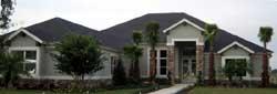 Sunbelt Style Home Design Plan: 95-271