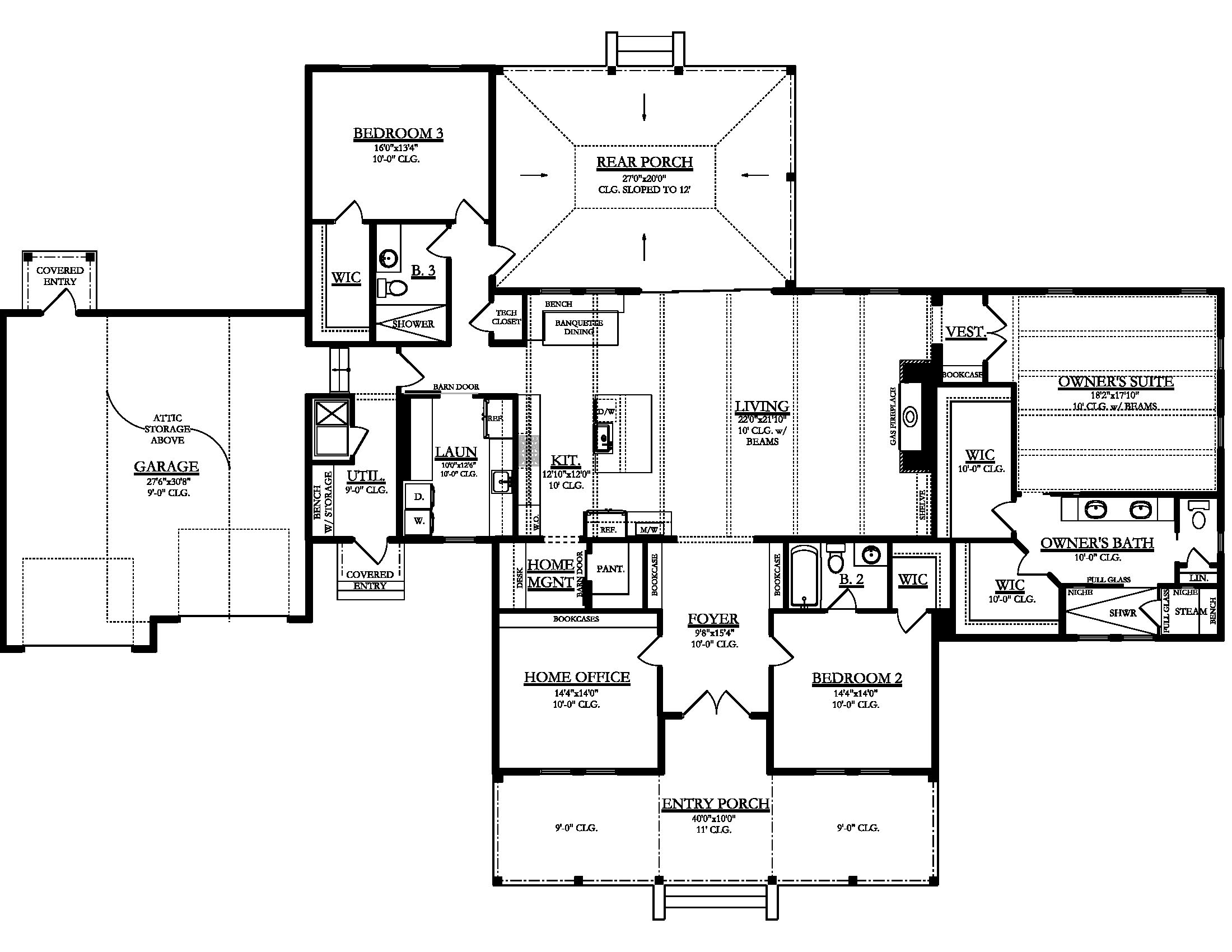 Main Floor Plan: 95-277