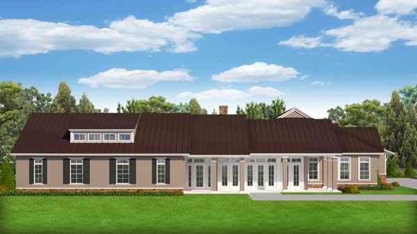Ranch Style Floor Plans Plan: 95-280