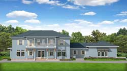 Florida Style Floor Plans Plan: 95-281