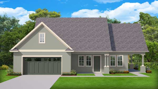 Traditional Style Home Design Plan: 95-282
