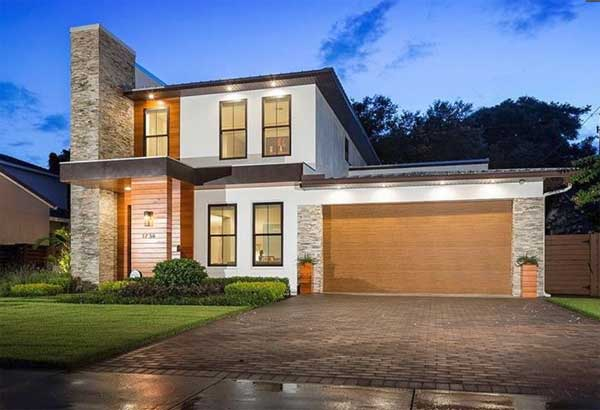 Modern Style House Plans Plan: 95-283