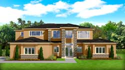 Contemporary Style Floor Plans Plan: 95-284