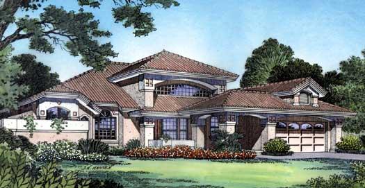 Florida Style Floor Plans Plan: 96-119