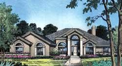 Sunbelt Style Floor Plans Plan: 96-130