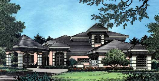 Florida Style Floor Plans 96-134