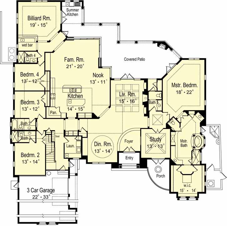 Main Floor Plan: 96-143