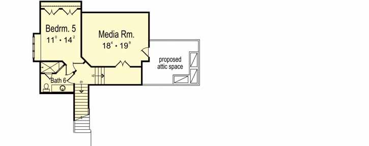Upper/Second Floor Plan:96-143