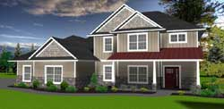 Traditional Style House Plans 97-104