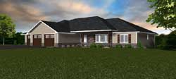 Ranch Style House Plans Plan: 97-107