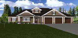 Ranch Style Floor Plans Plan: 97-114