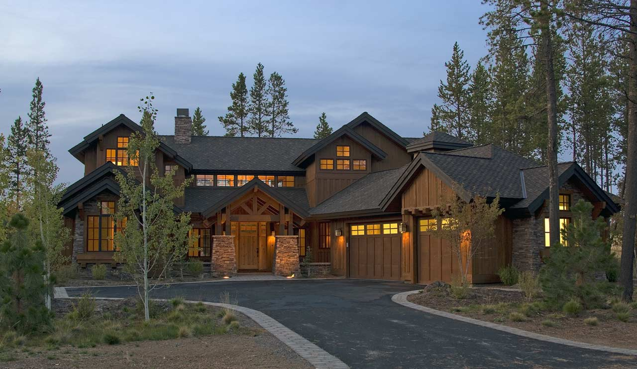 Mountain-or-rustic Style Floor Plans Plan: 98-101