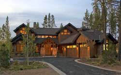 Mountain-or-Rustic Style Home Design Plan: 98-101