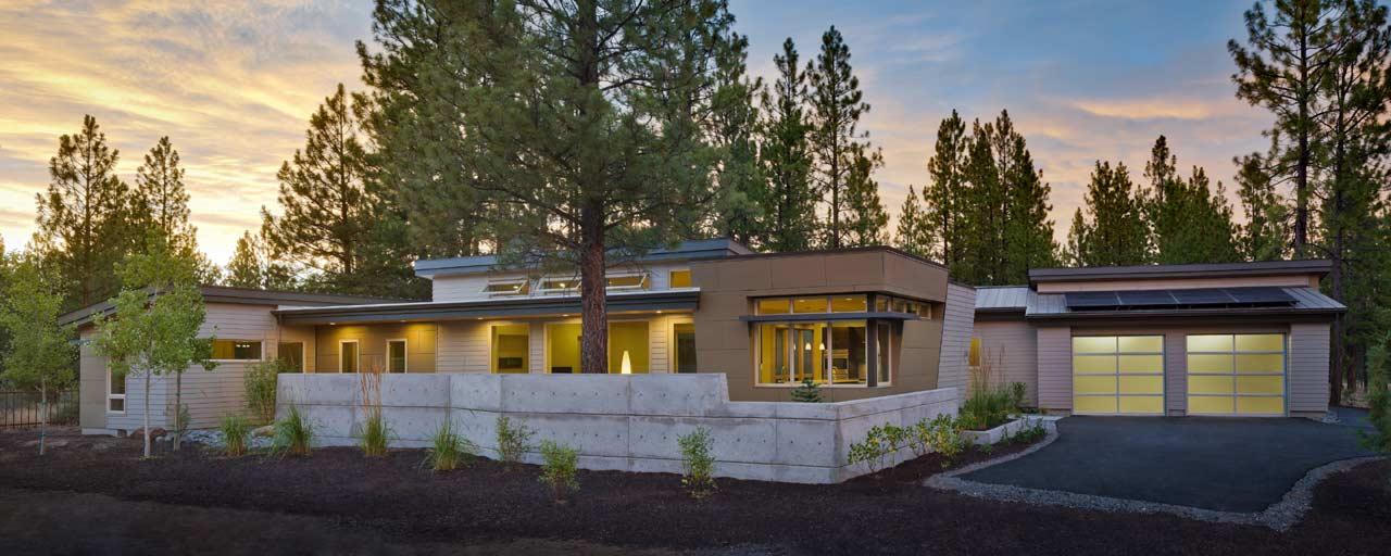Modern Style Floor Plans Plan: 98-105