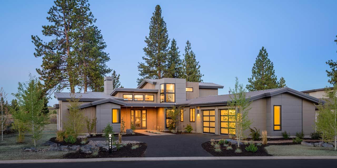 Modern Style House Plans Plan: 98-107