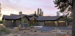 Craftsman Style Home Design Plan: 98-110