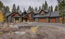 Mountain-or-Rustic Style Floor Plans 98-125