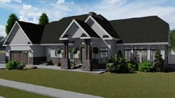 Traditional Style House Plans Plan: 99-105