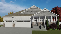 Craftsman Style House Plans Plan: 99-109