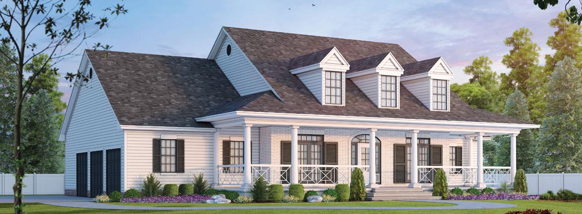 Modern-Farmhouse Style Home Design 10-1194
