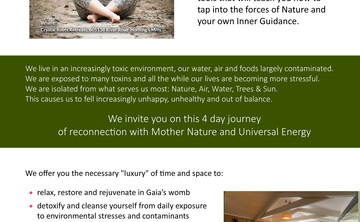 True Nature Through Tao, 4 day retreat