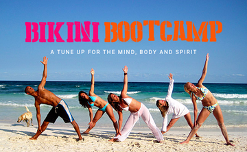 Bikini Bootcamp Jan 28 – Feb 3 with a focus on bringing meditation to daily life