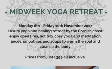 Luxury Yoga Retreat in Cornwall