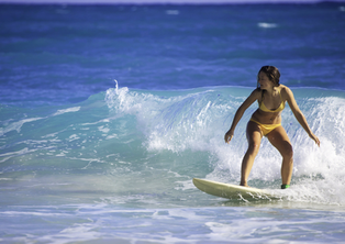 7 Days Women's Surf and Yoga Vacation in Bali
