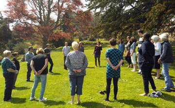 Sharpham House: Mindfulness through Singing Retreat-(3 nights)