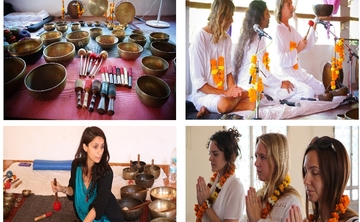 3 Days – Tibetan Singing Bowls – Sound Healing Teacher Training Course In North Goa, India