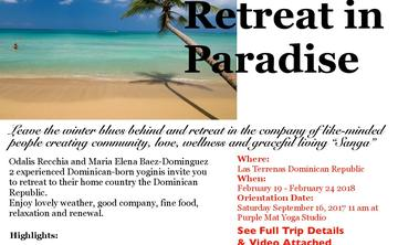 Yoga Retreat in Paradise